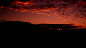 sunrise merapi