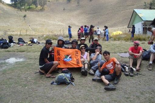 Bersama pendaki dari Perancis