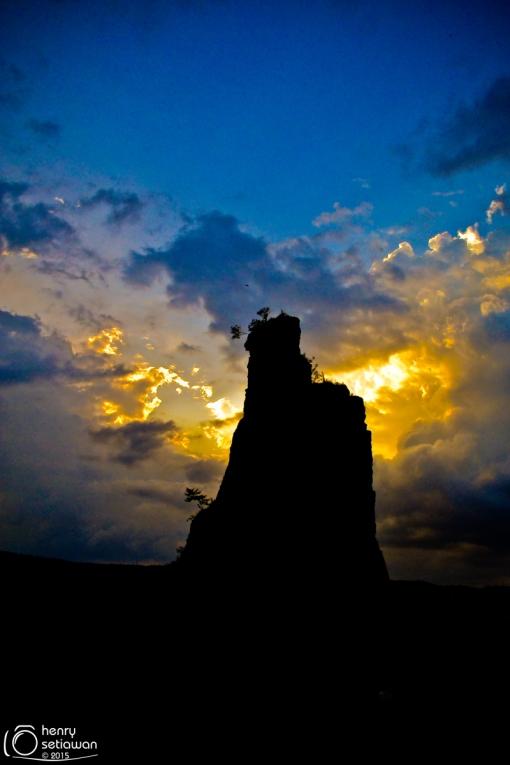 Sunset di Brown Canyon