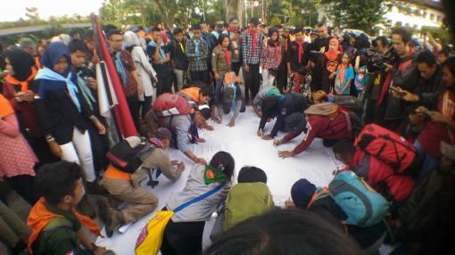 Acara Pernyataan Sikap dan Doa Bersama Forum Komunikasi Keluarga Besar Pecinta Alam Bandung Raya